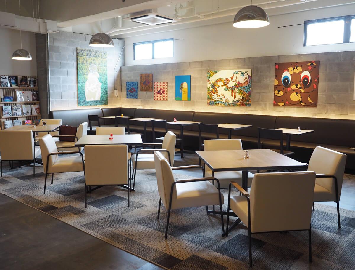 エメラルドアイルのカフェ