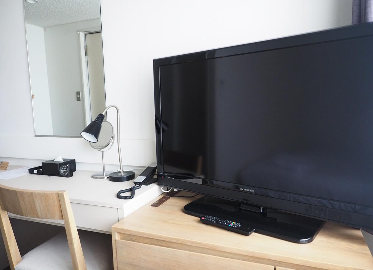 ホテルエメラルドアイルのテレビ