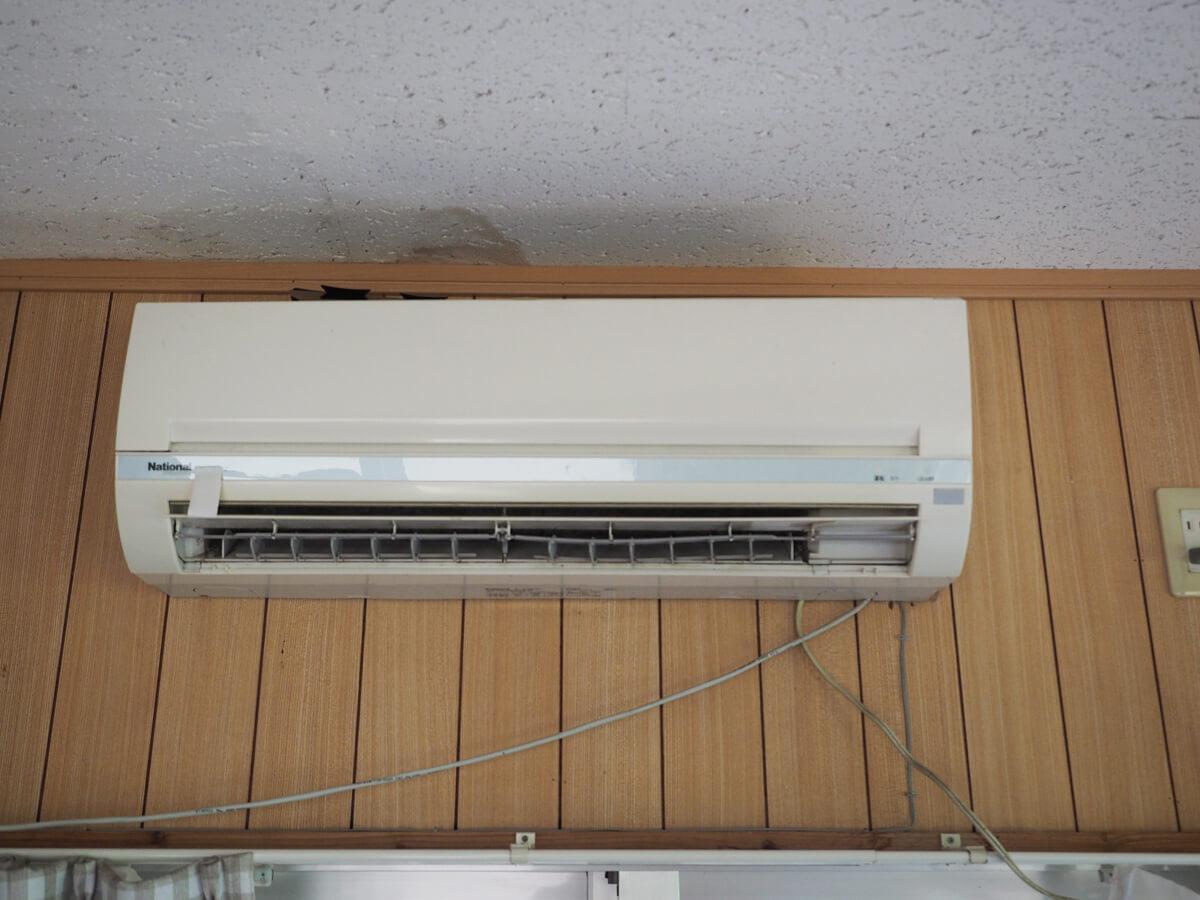 エアコンは有料
