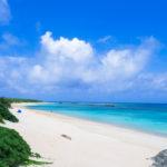 波照間島、ニシ浜。日本最南端の島は、海の色合いも格別でした