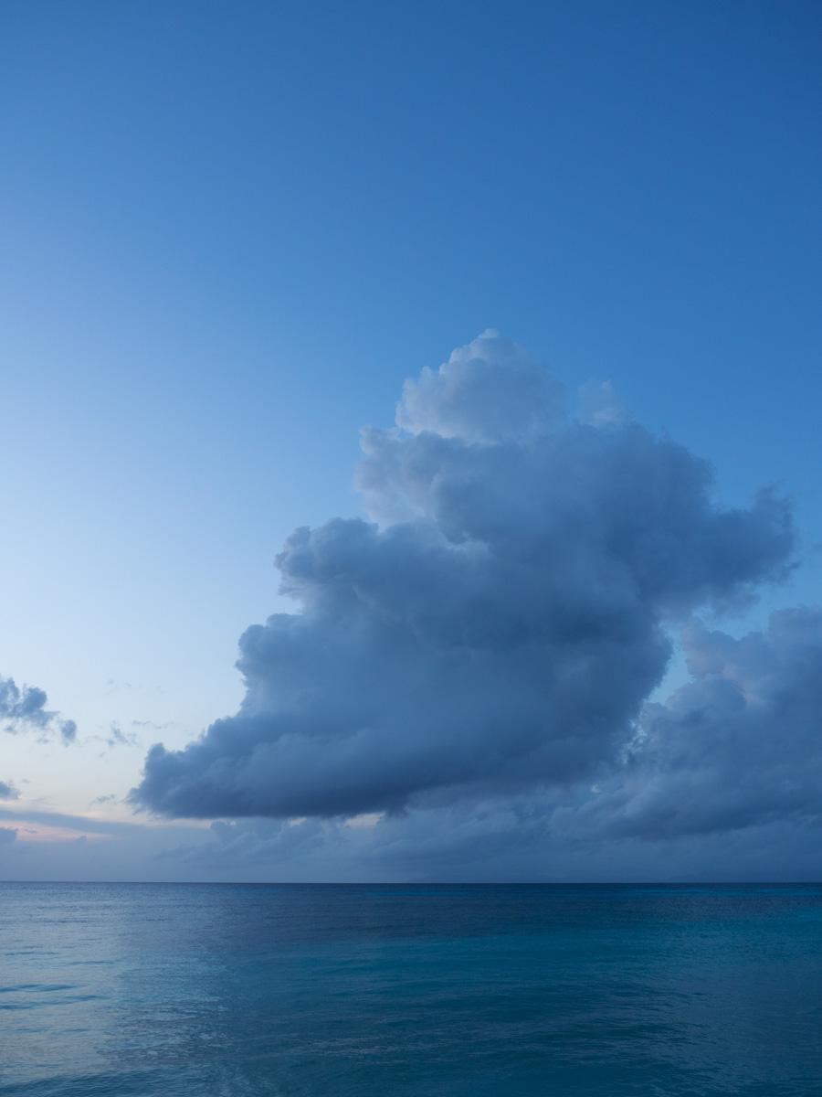 雲がでかい!