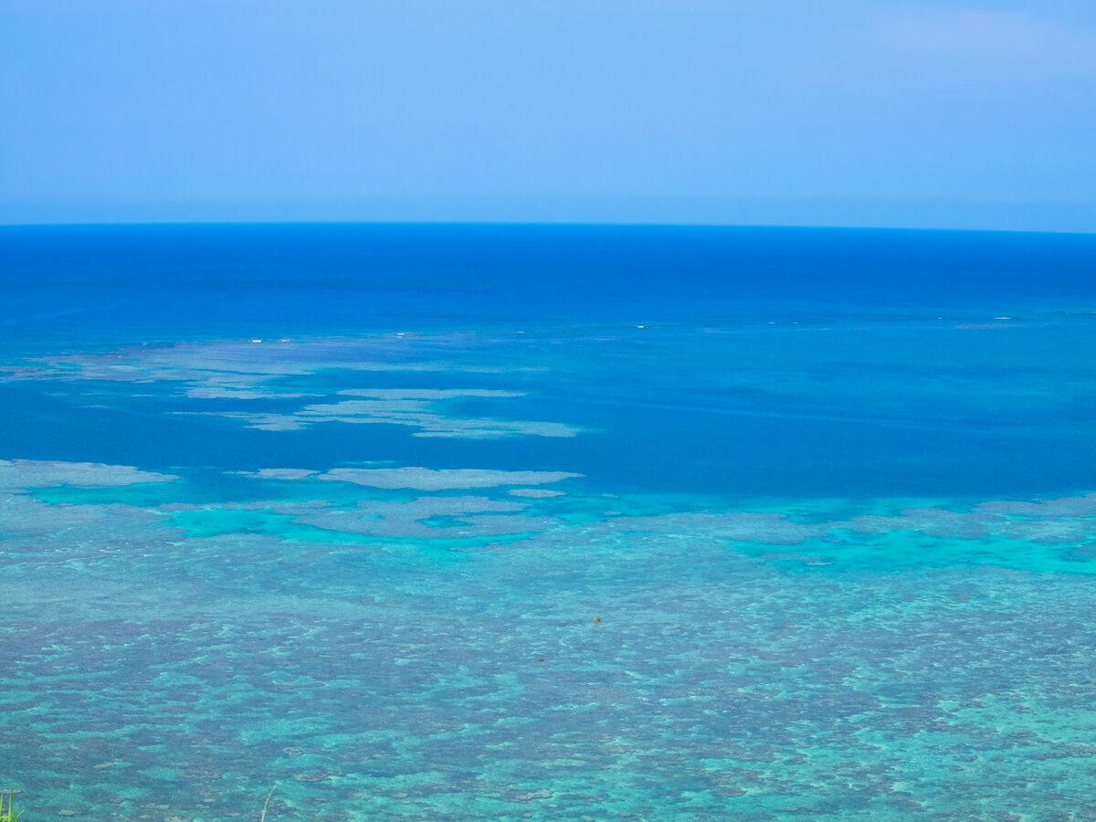 海をアップ