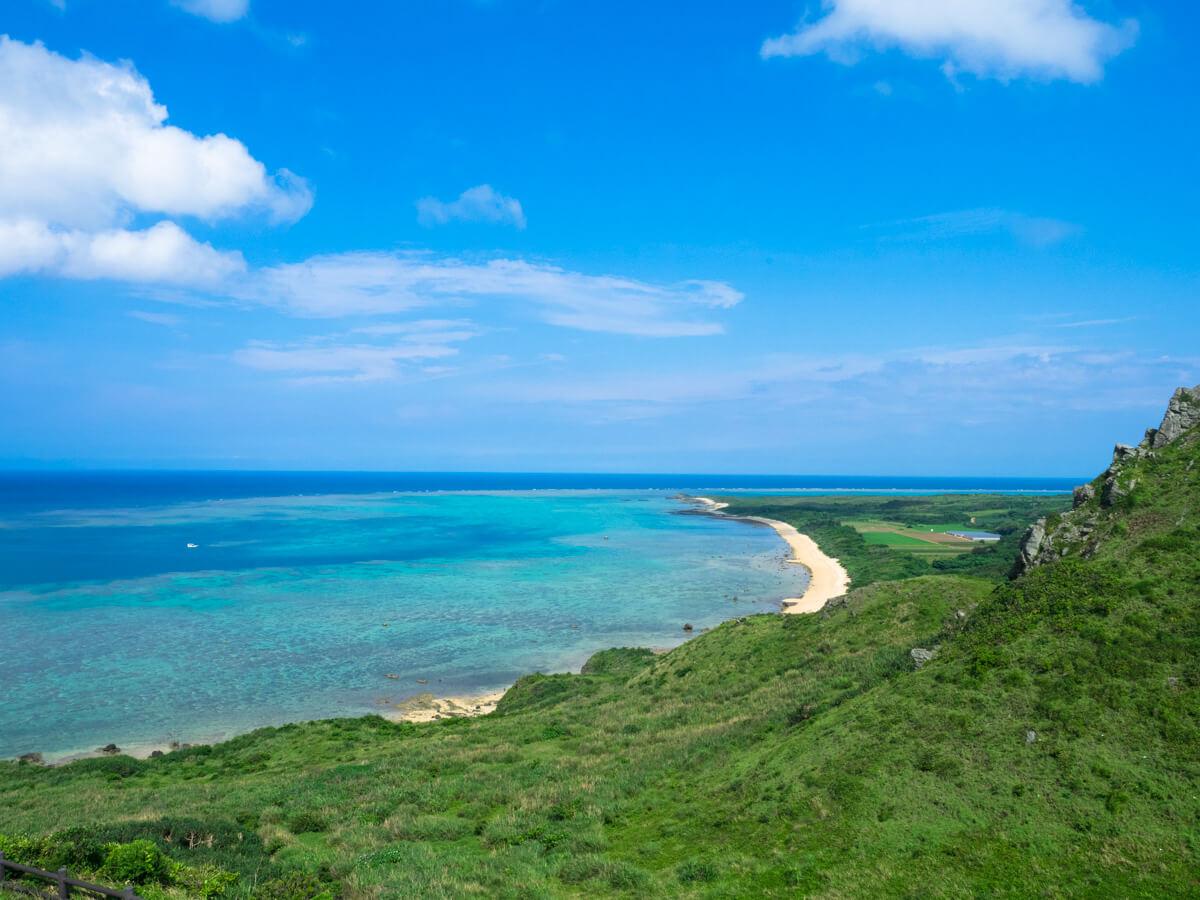 平久保の原野と太平洋
