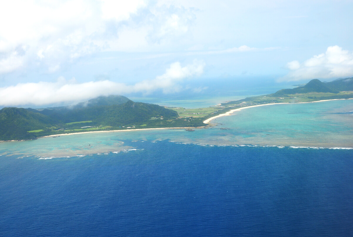石垣島の空撮