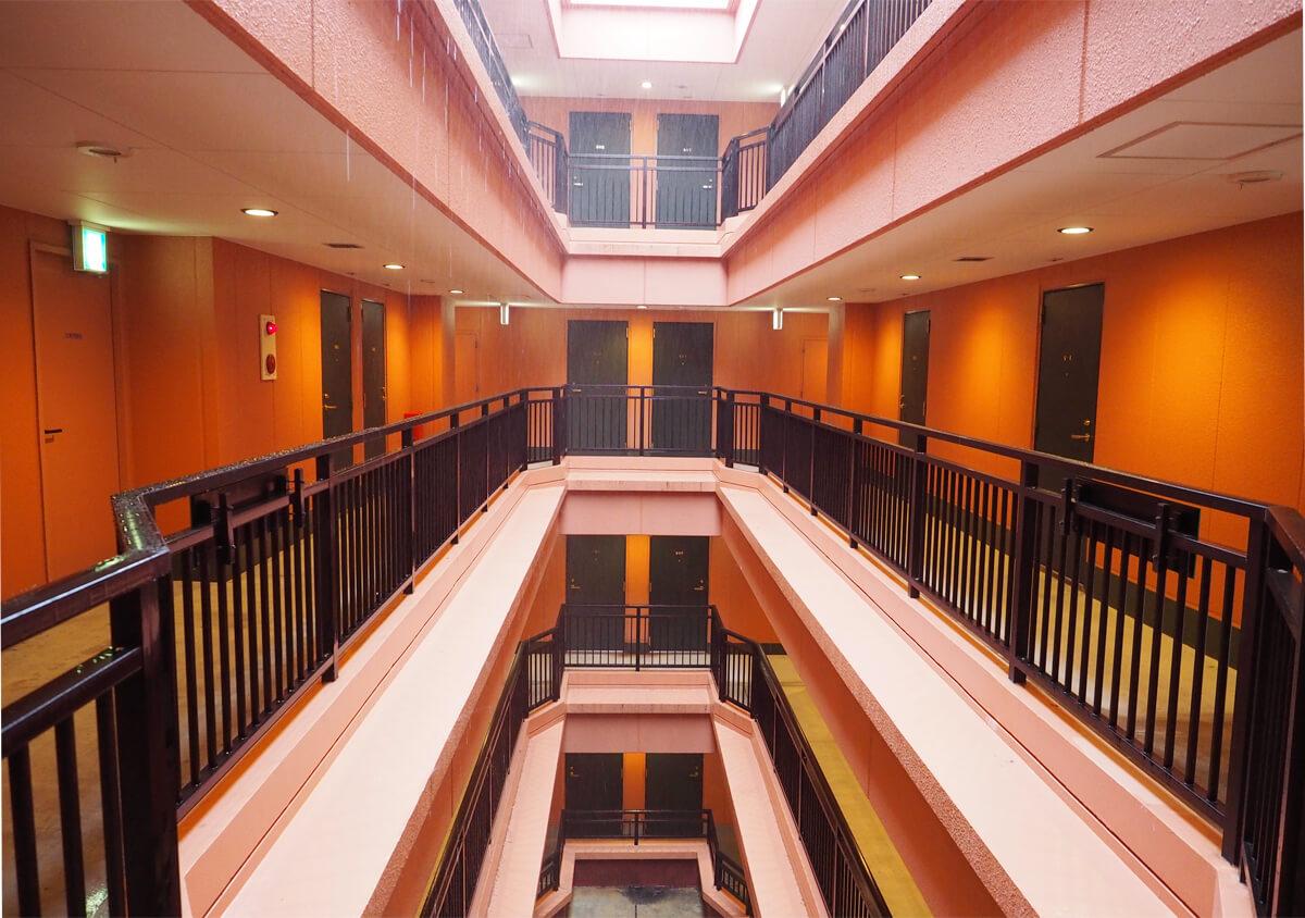 ホテルラッソ アビアンパナ石垣島の廊下