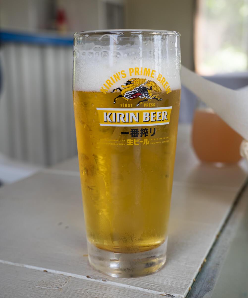 リトルグリークキッチンのビール