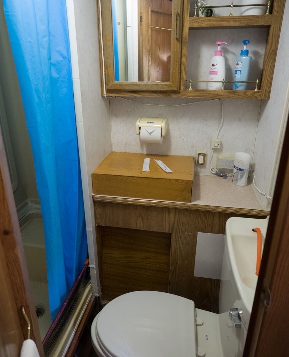 トイレとシャワー