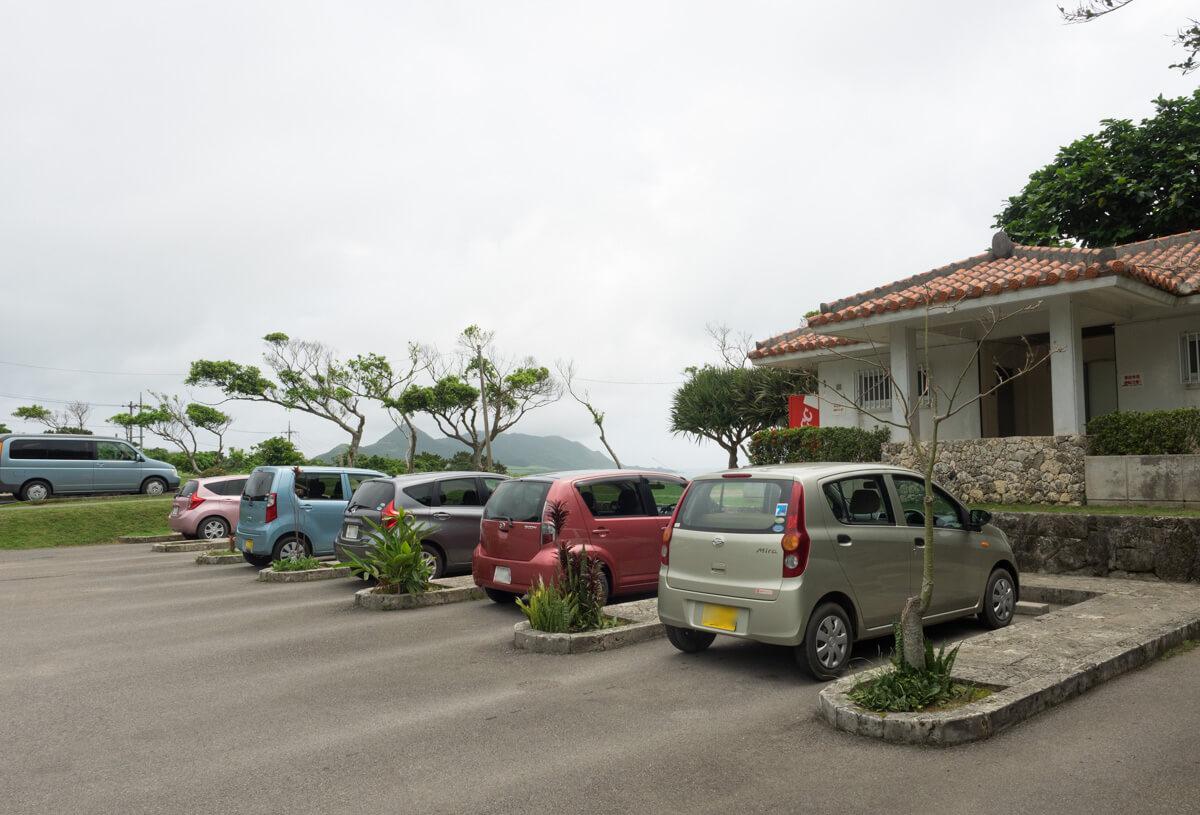 玉取崎展望台の駐車場