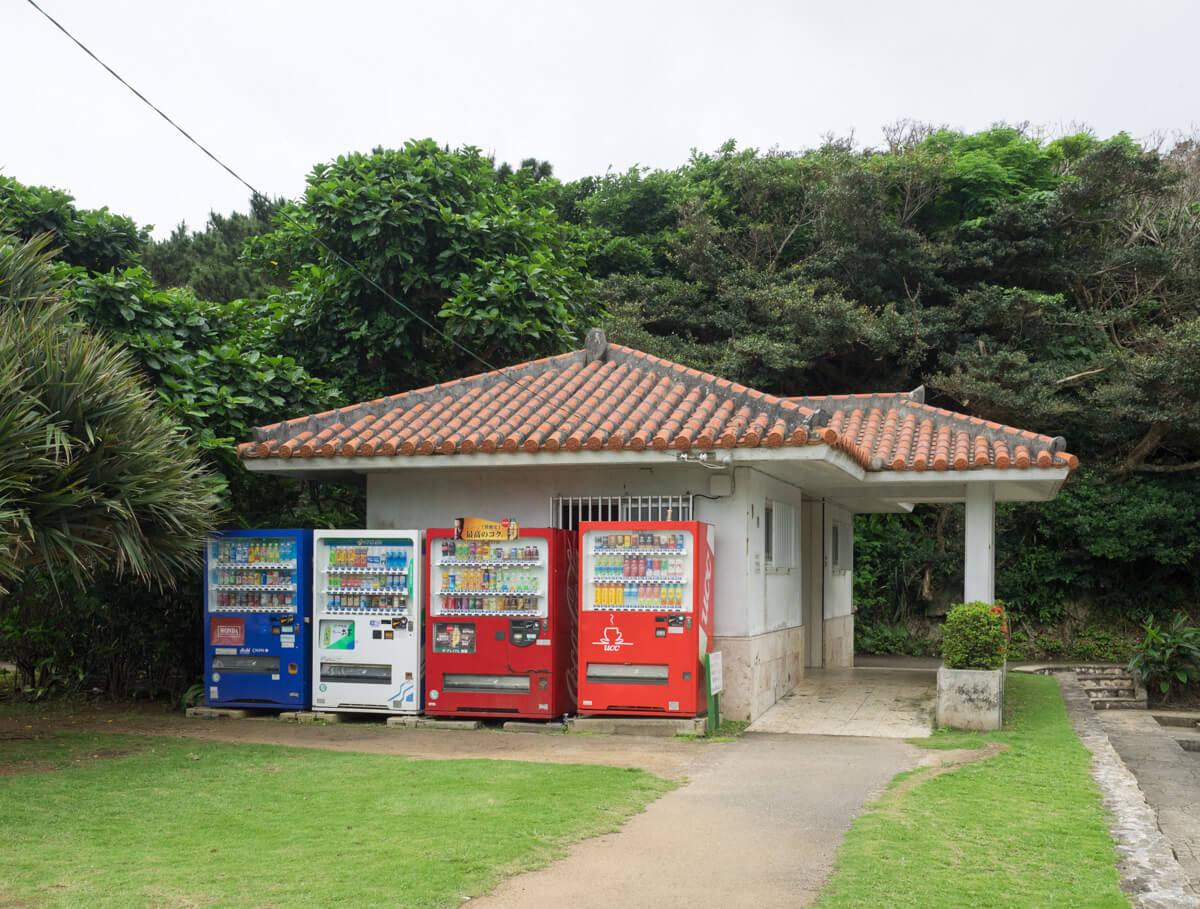 玉取崎展望台のトイレ・自販機