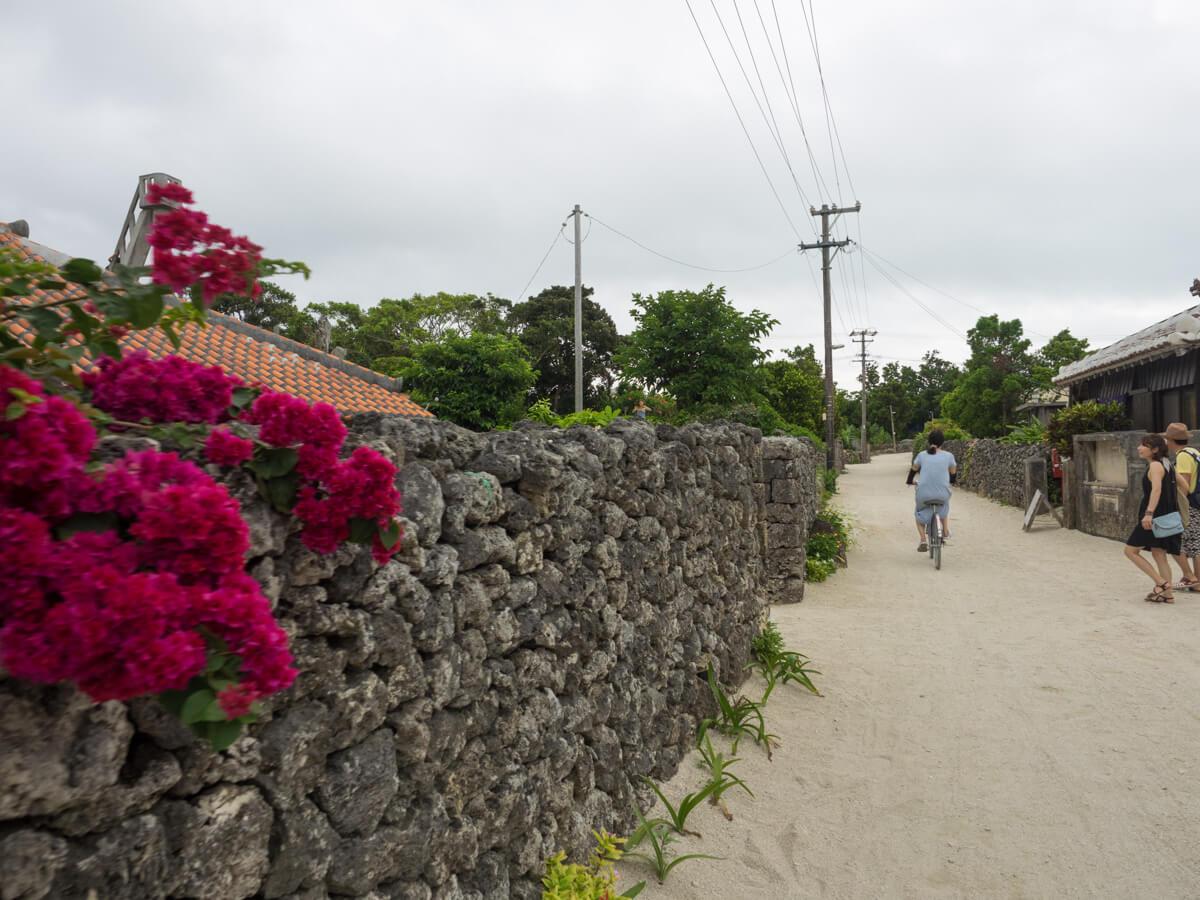 竹富島の風景