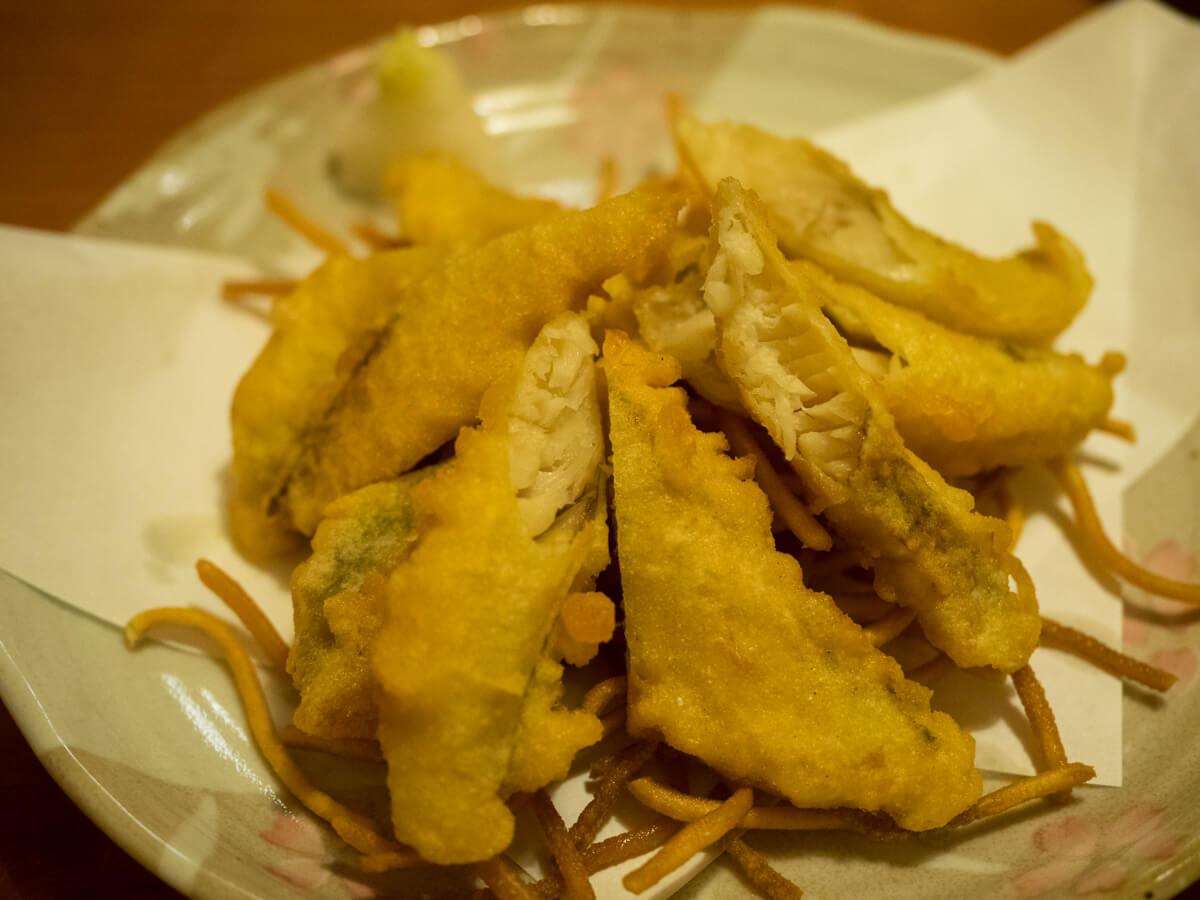 島魚の天ぷら