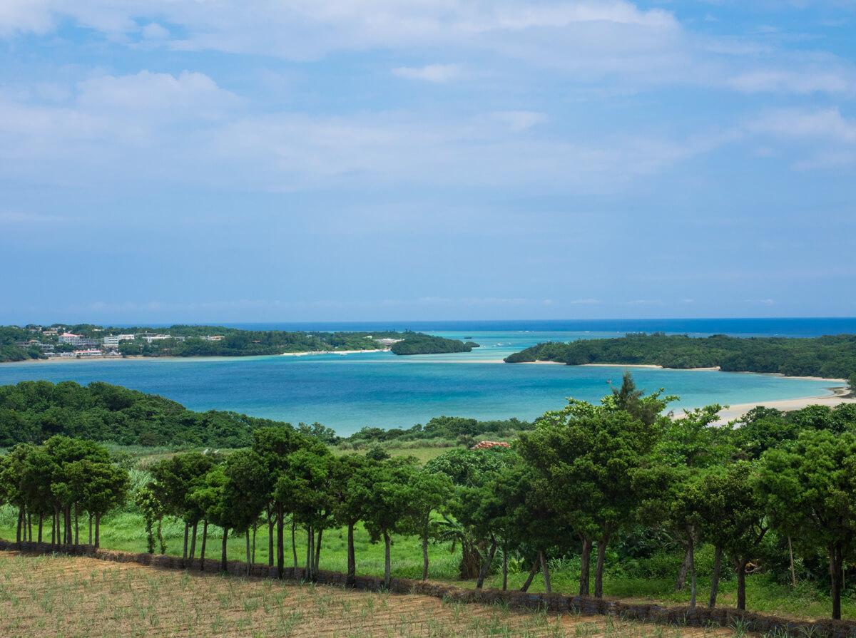 川平湾の観光スポット