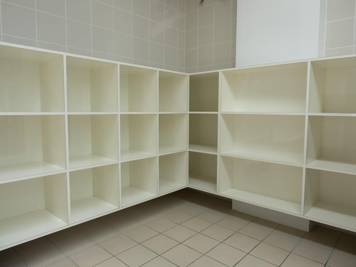ゴリラチョップの更衣室