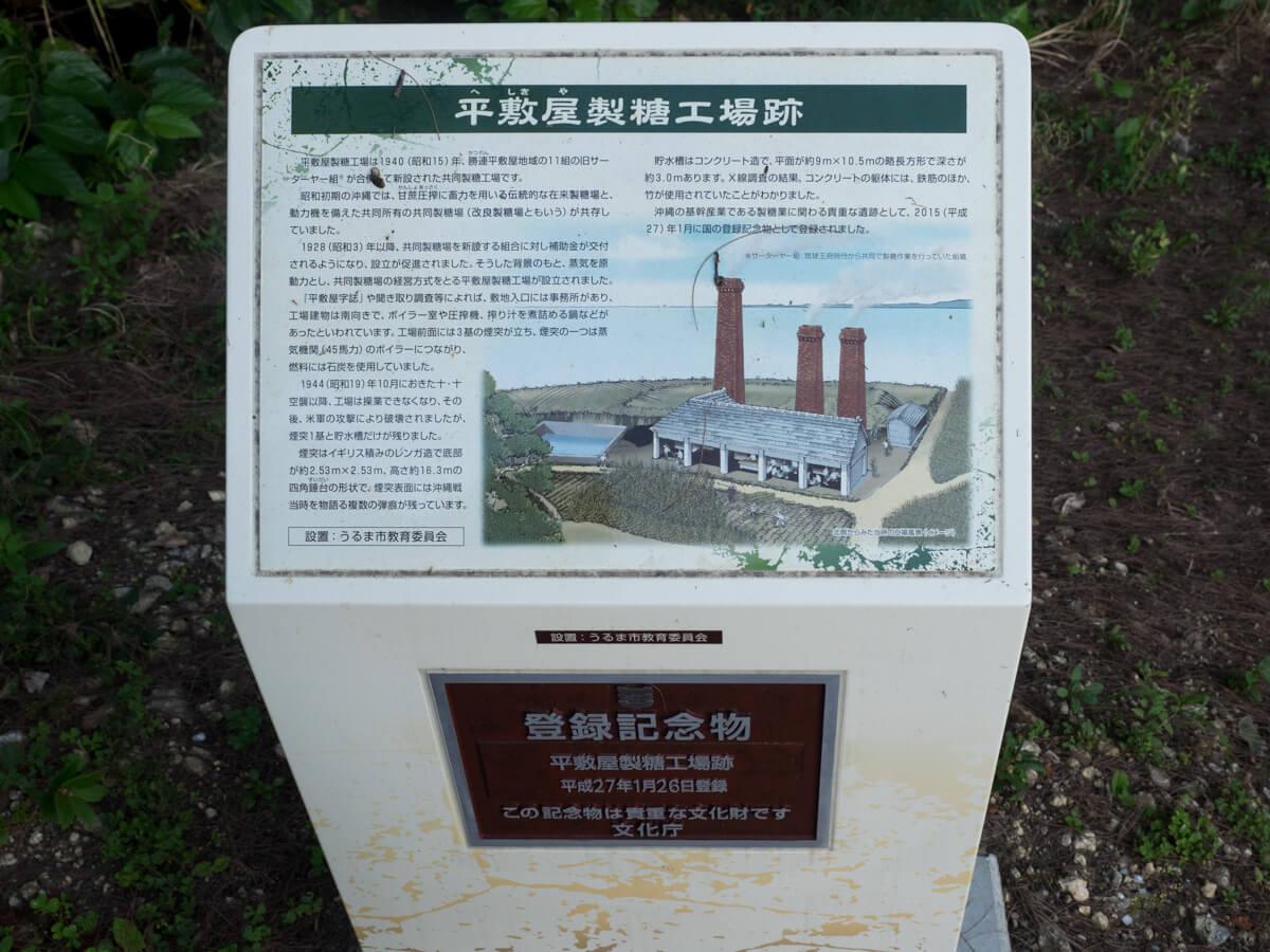 製糖工場の説明