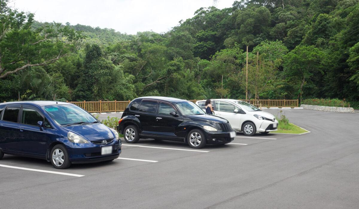 ター滝の駐車場