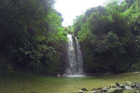 大宜味村のター滝