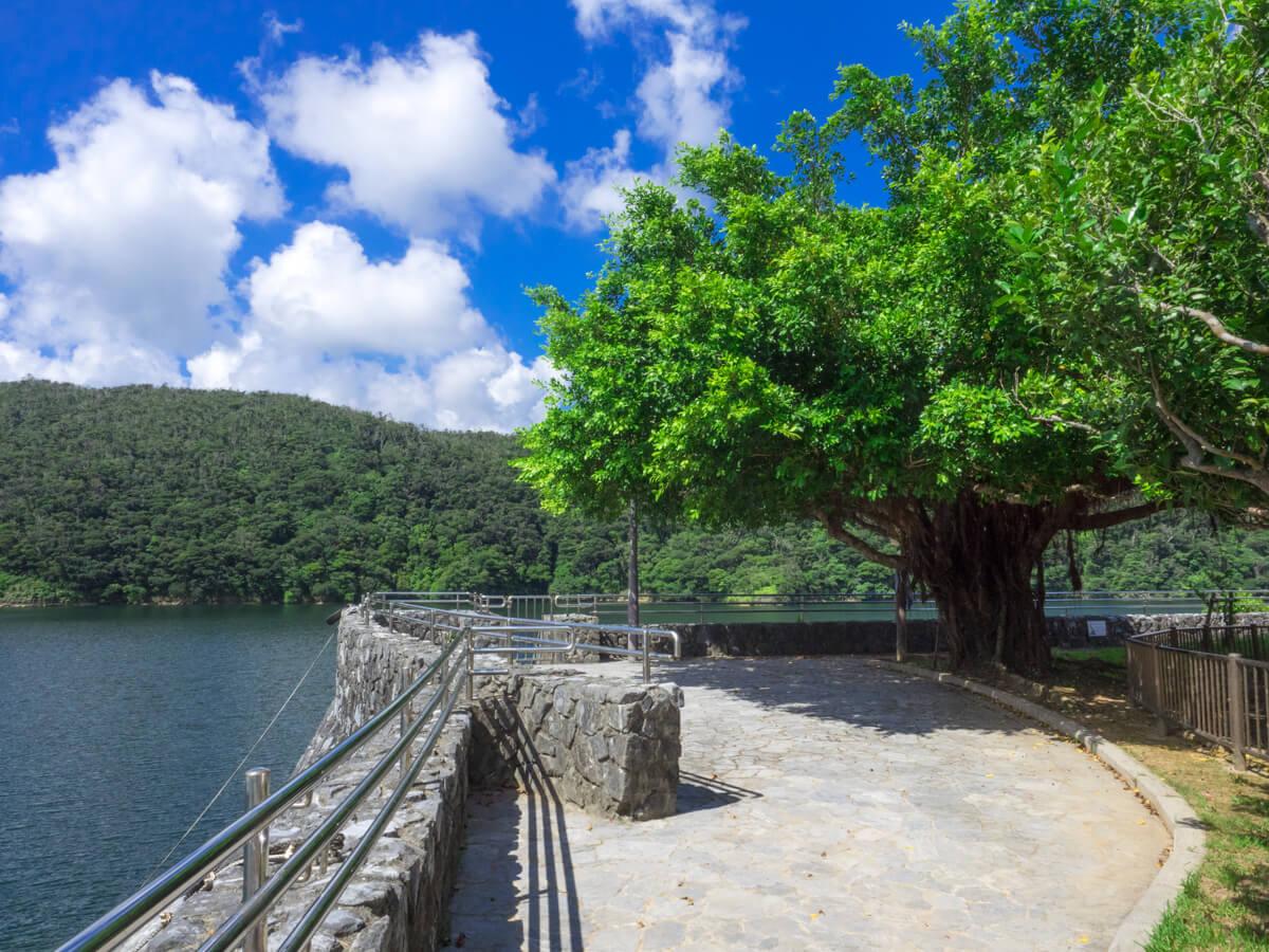 福地ダムのコース