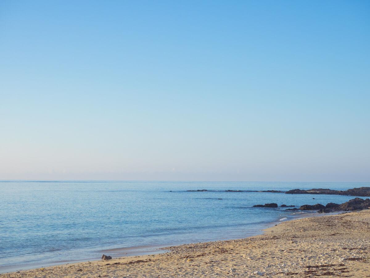 静かに過ごせる自然のビーチは大切にしたい