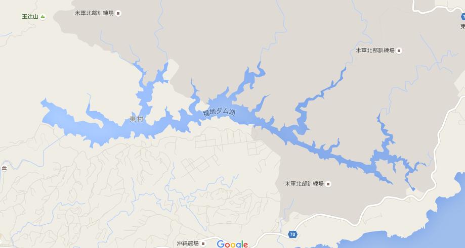 福地ダムの大きさ