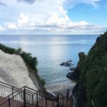 東村・宮城「名もなき海岸」階段を降りた先に広がる静かな穴場スポット