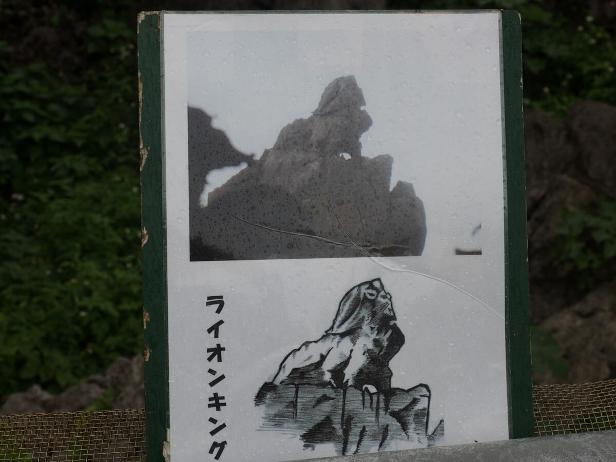 ライオンキングの岩をみる
