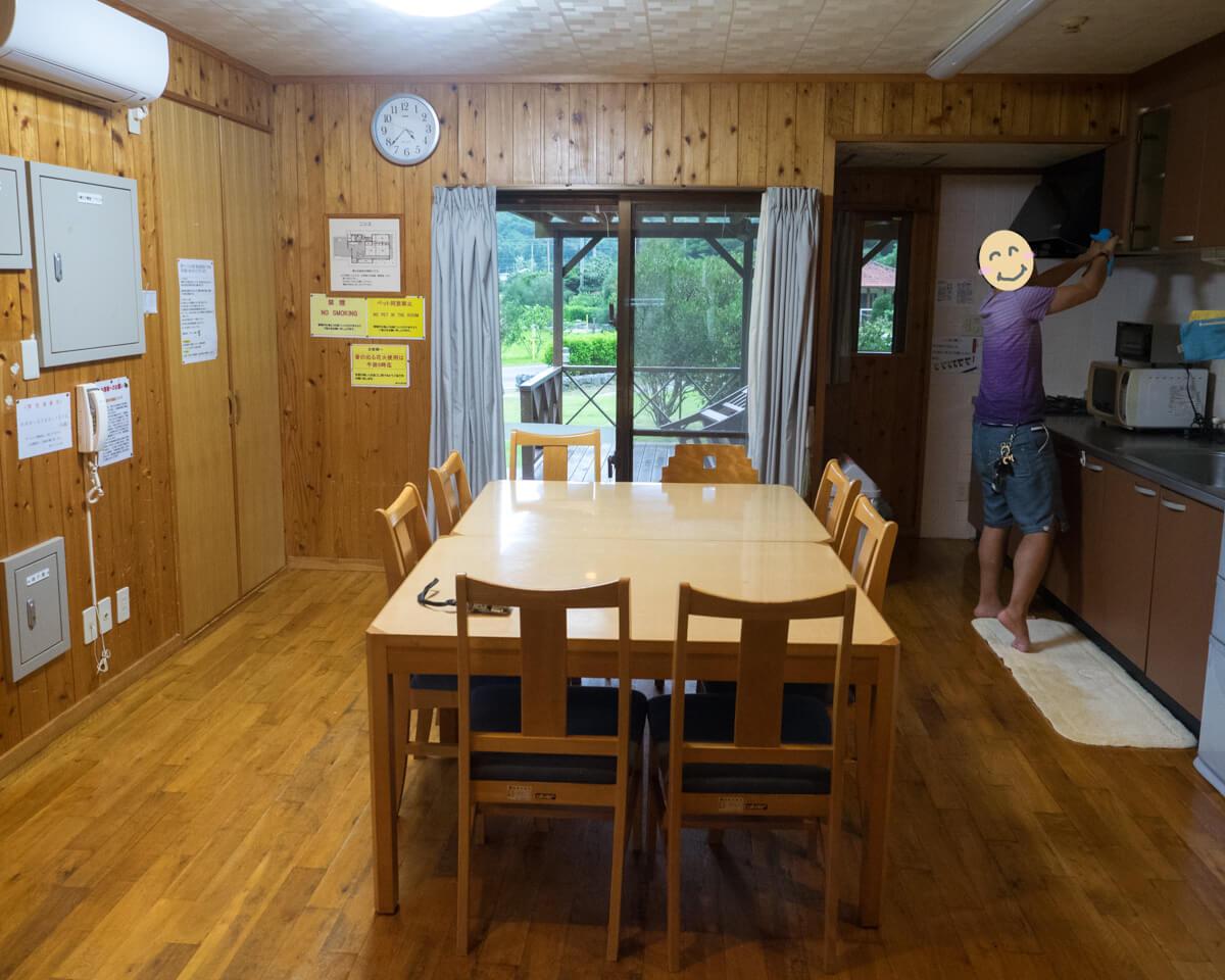 奥ヤンバルの里のキッチン