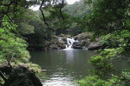 タナガーグムイの滝