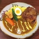 お肉・野菜がゴロッと!沖縄県産の食材を使ったスープカレー「あじとや 首里城店」
