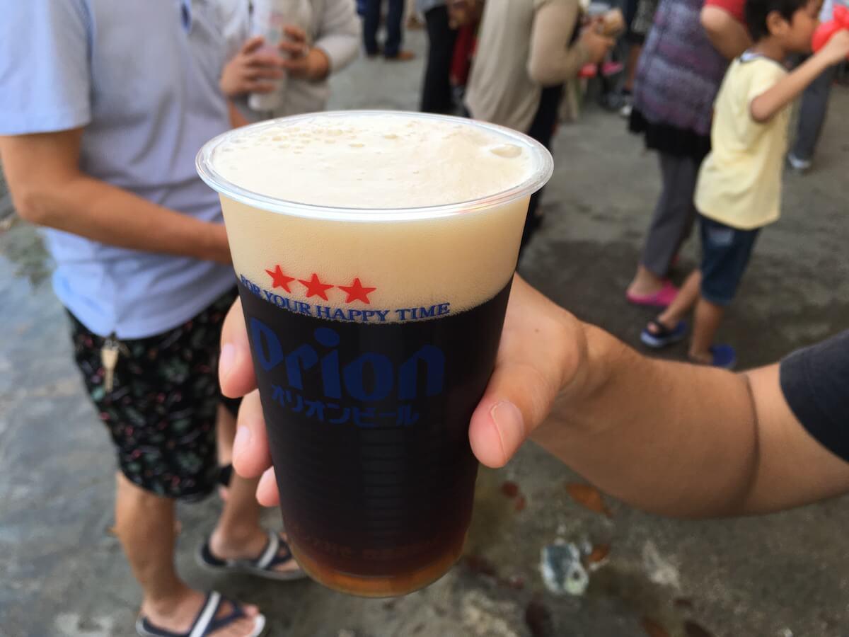 黒ビールでした