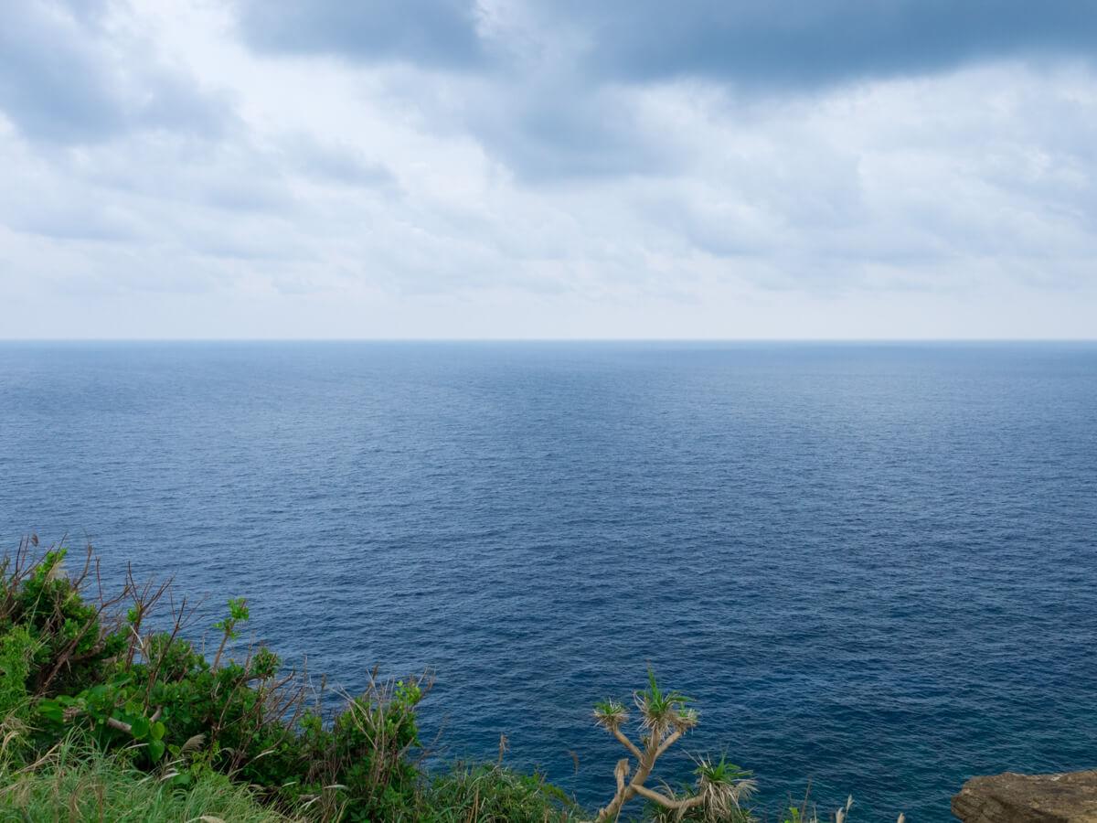 軍艦岩展望台からの眺め