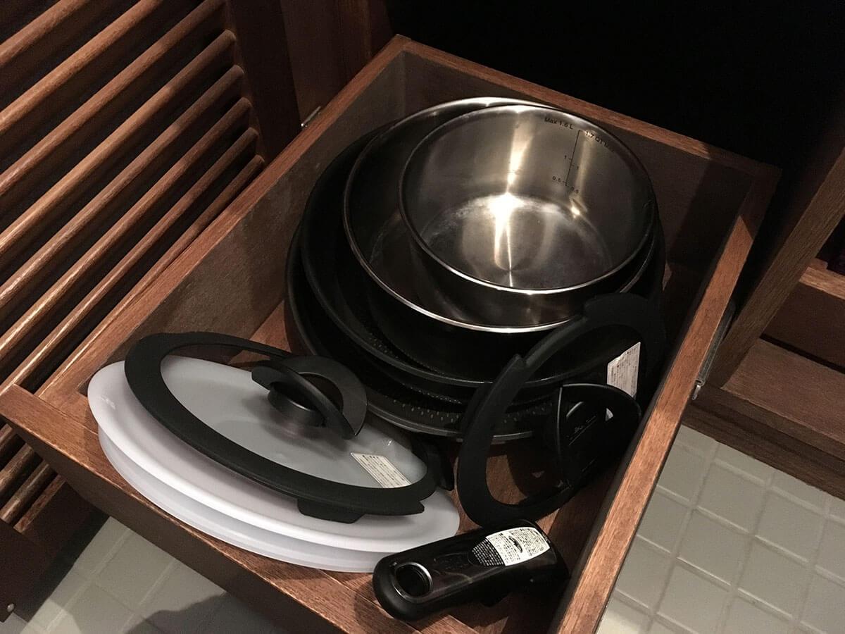 調理器具は何でもある