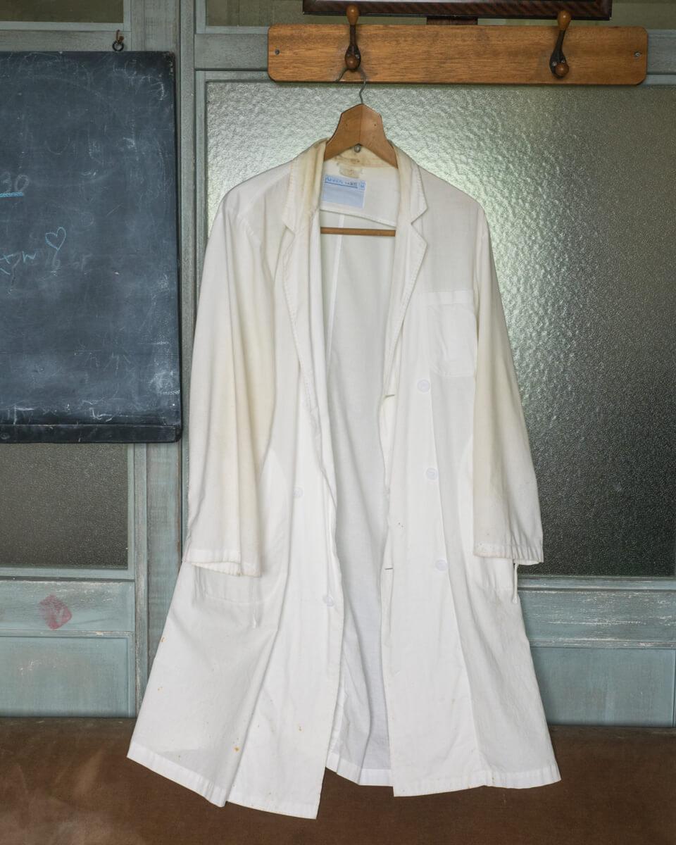 ドクターコトーの白衣