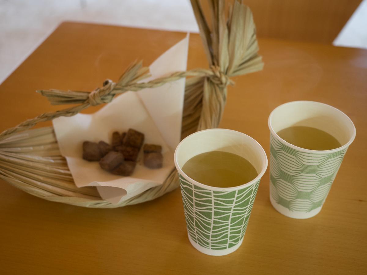 お茶と黒糖