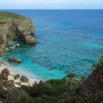 与那国島の隠れた絶景、六畳ビーチ。沖縄でも圧倒的な透明度