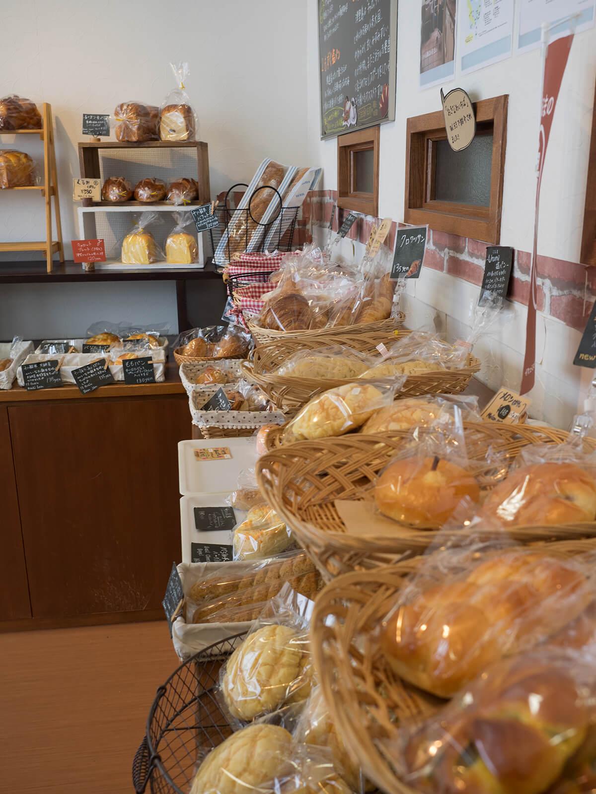 パンの木のパンたち