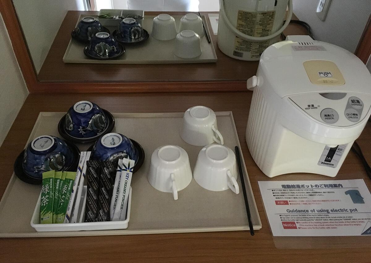 さんぴん茶とコーヒー