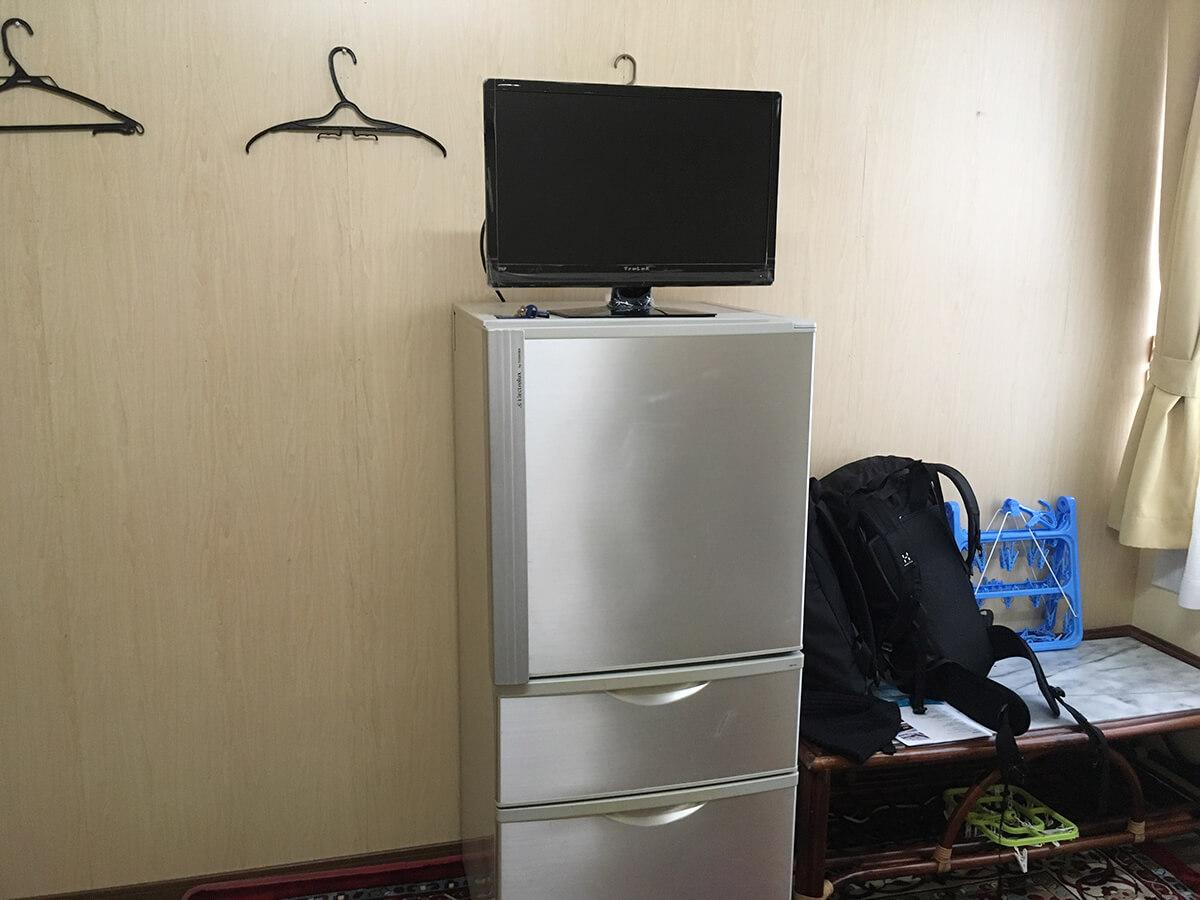 冷蔵庫・テレビ付き