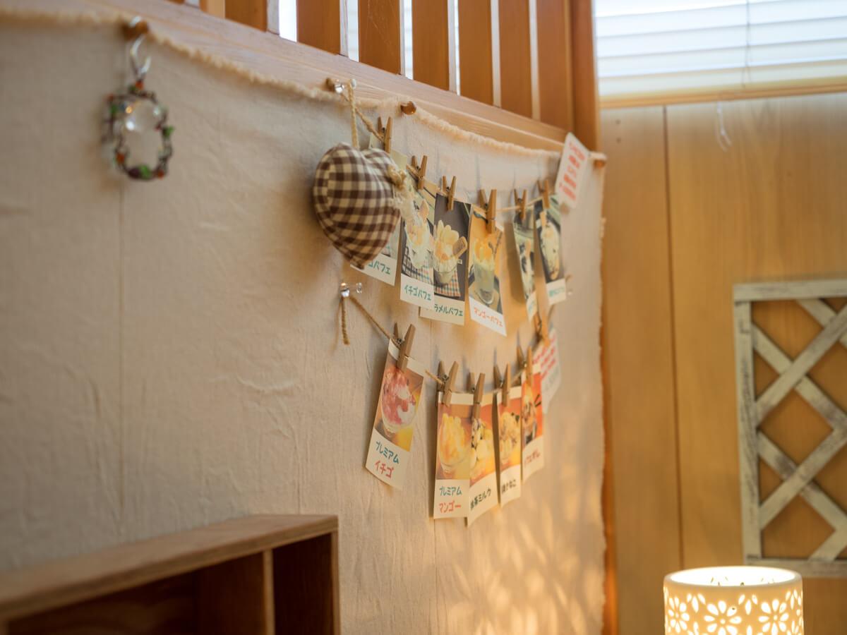 ハンドメイドの装飾