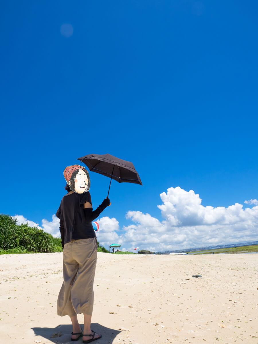 絵になる砂浜