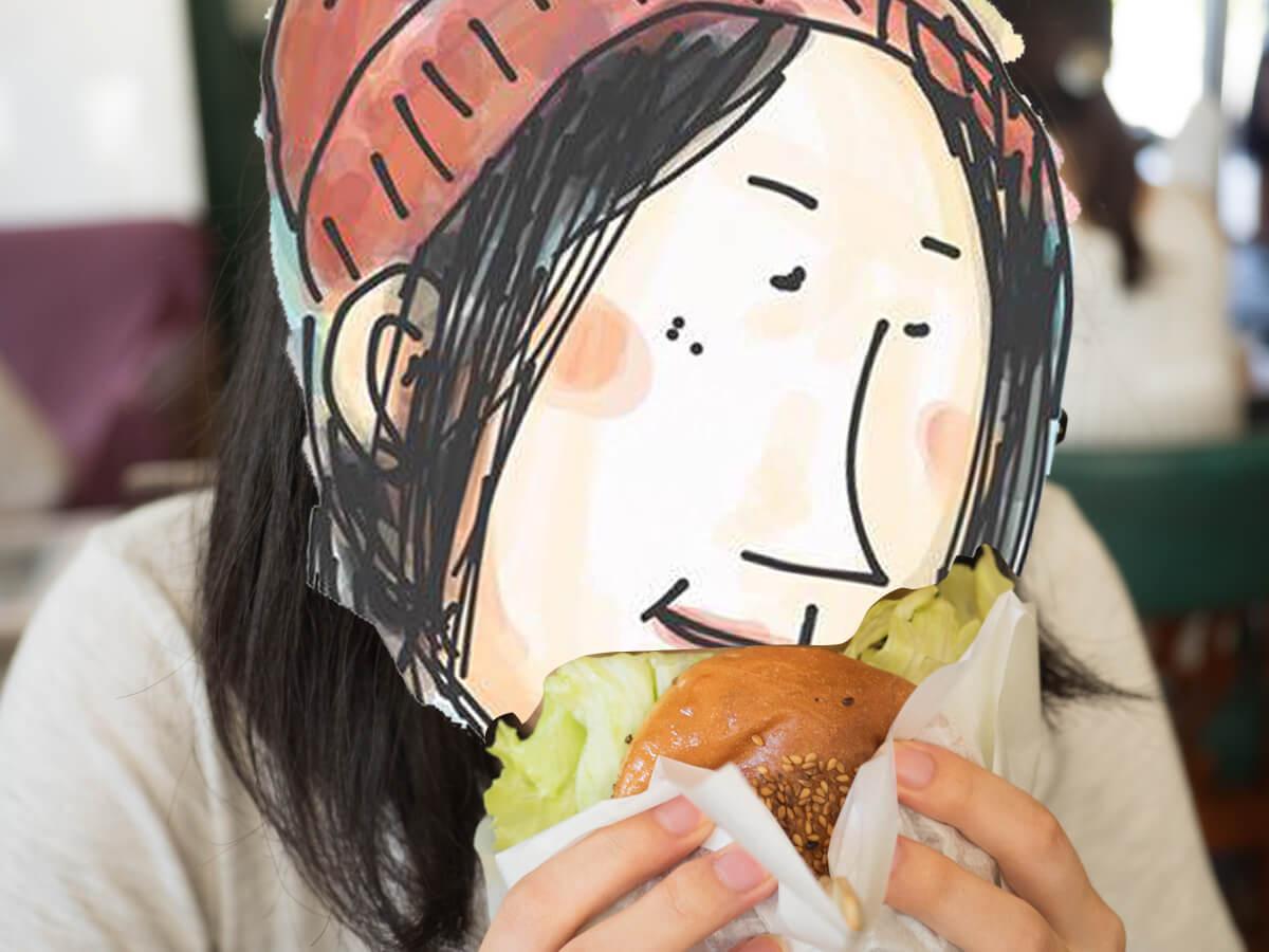 キャプテンカンガルーのハンバーガー