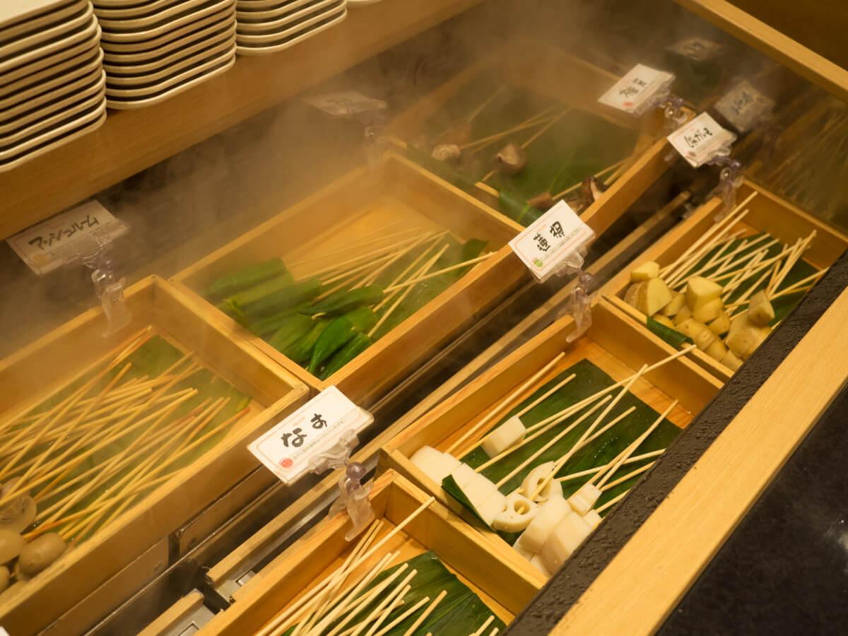 串カツの食べ放題