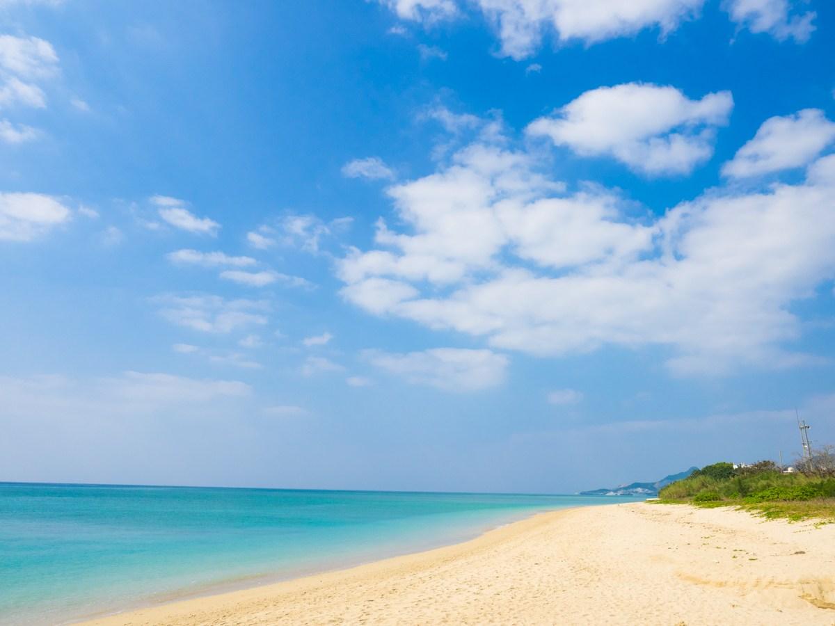 キャプテンカンガルーのビーチ