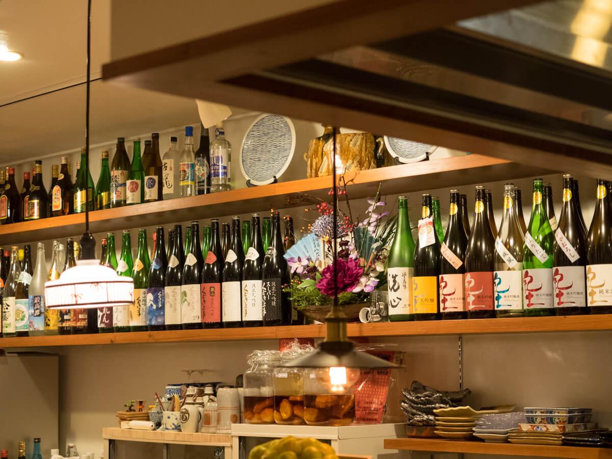 日本酒がいっぱい