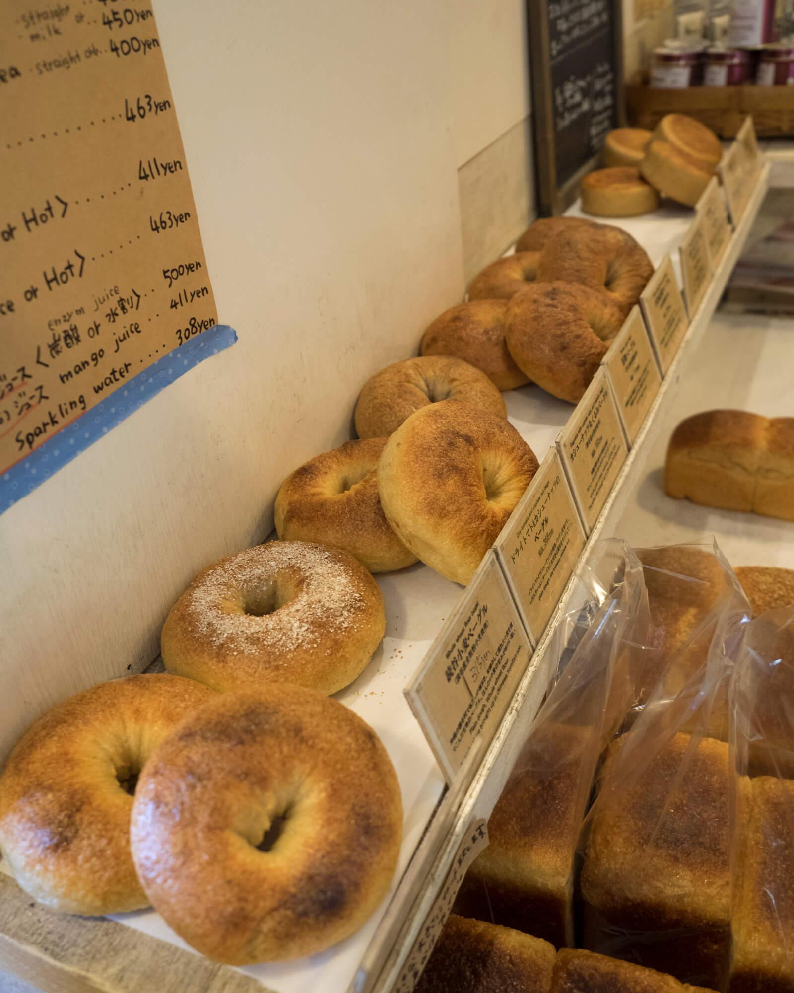 ハード系のパンが多い