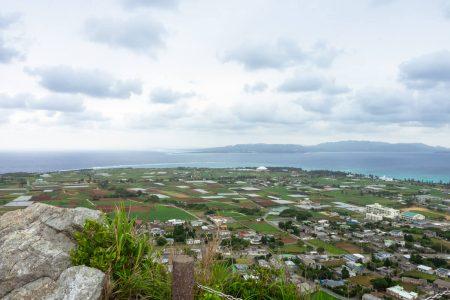 タッチュー頂上からの景色