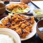本部町「紀乃川」は沖縄地元らしい食堂。とんかつ定食は値段も味もボリュームも三方よし!
